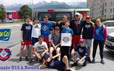 En route pour la finale U15