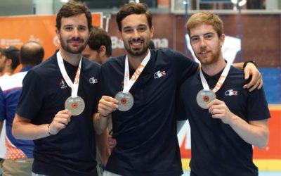 4 Yeti's Grenoble médaillés aux World Roller Games 2019 à Barcelone