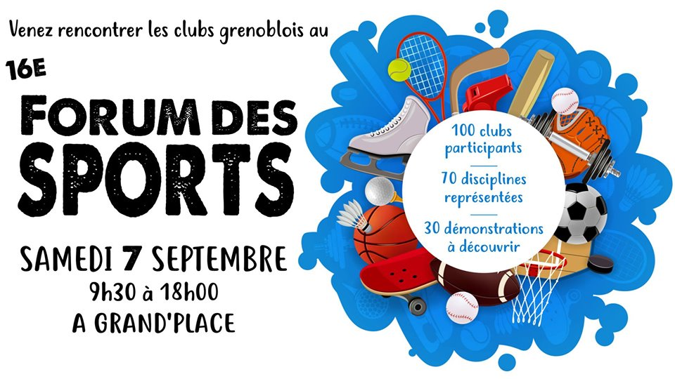 Forum des sports samedi 7 septembre 2019