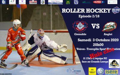 [SAISON 20-21] Épisode 2/18 Victoire de Grenoble 4 à 3