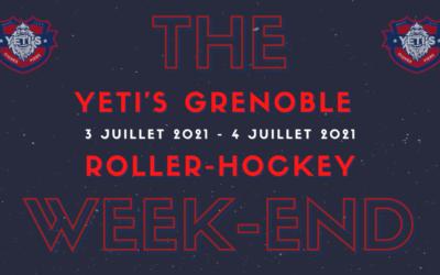 Réservez votre week-end un évènement sportif se prépare chez les Yeti's Grenoble