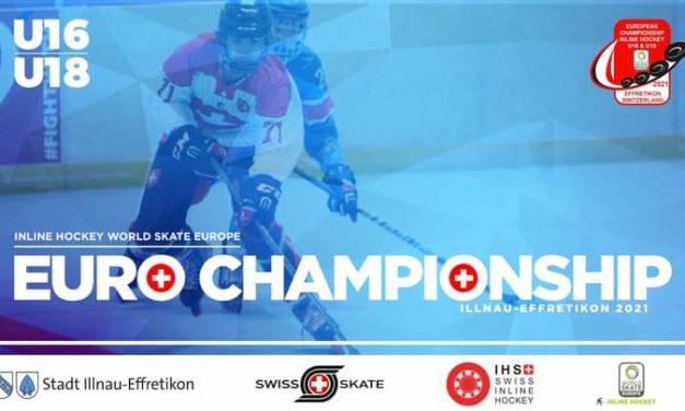 L'équipe de France U18 et nos 2 jeunes Yeti's Grenoble en finale du Championnat d'Europe 2021